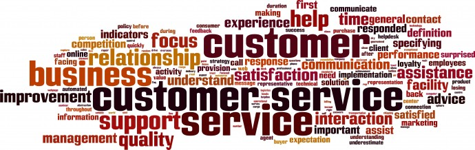 Customer service-horizon